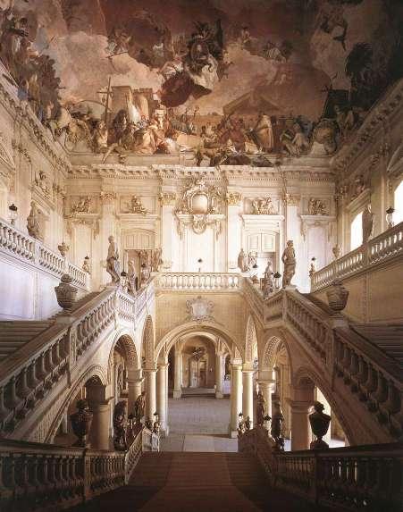 Fig. 2. Treppenhaus ceiling (Tiepolo, 1752-3).