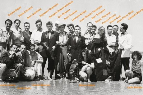 Fig. 1. The members of Objectif 49 at the Festival du film maudit in Biarritz, 1949.