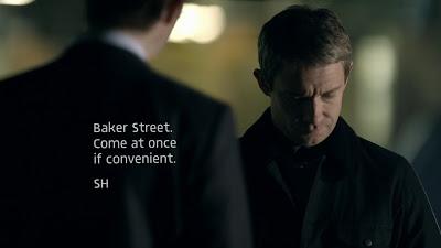 Fig. 1. Texting in Sherlock (2010-2014).