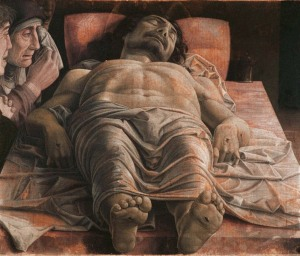 Mantegna's Lamentation Over the Death of Christ (ca. 1490).